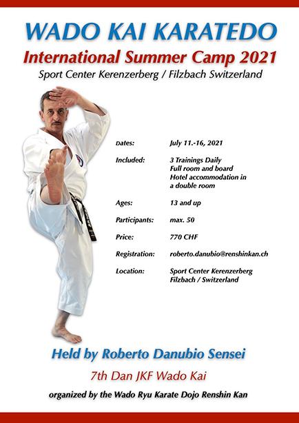 Wado Kai Karatedo – Summer Camp 2021